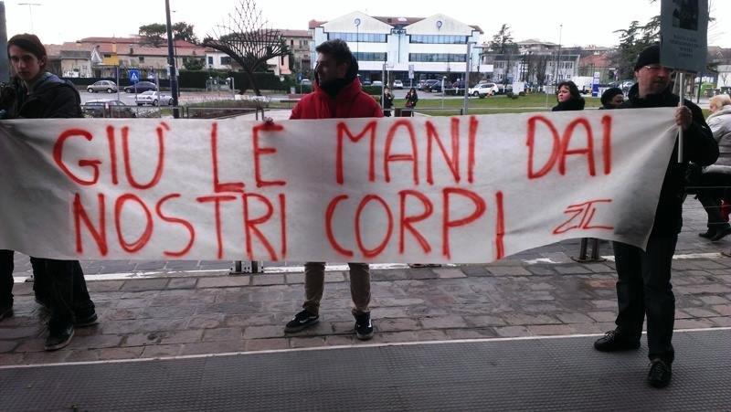 Treviso – Marcia a difesa del diritto di autodeterminare il proprio corpo
