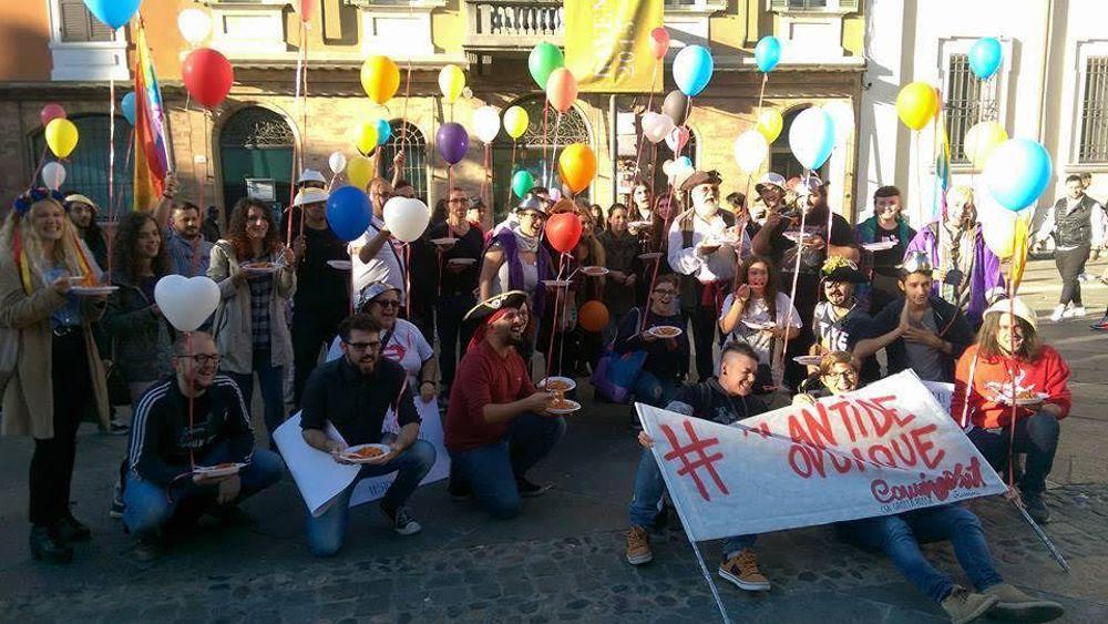 """Cesena Today: Unioni civili: tra """"sentinelle in piedi"""" e """"sveglie"""", pure le """"tagliatelle in piedi"""""""