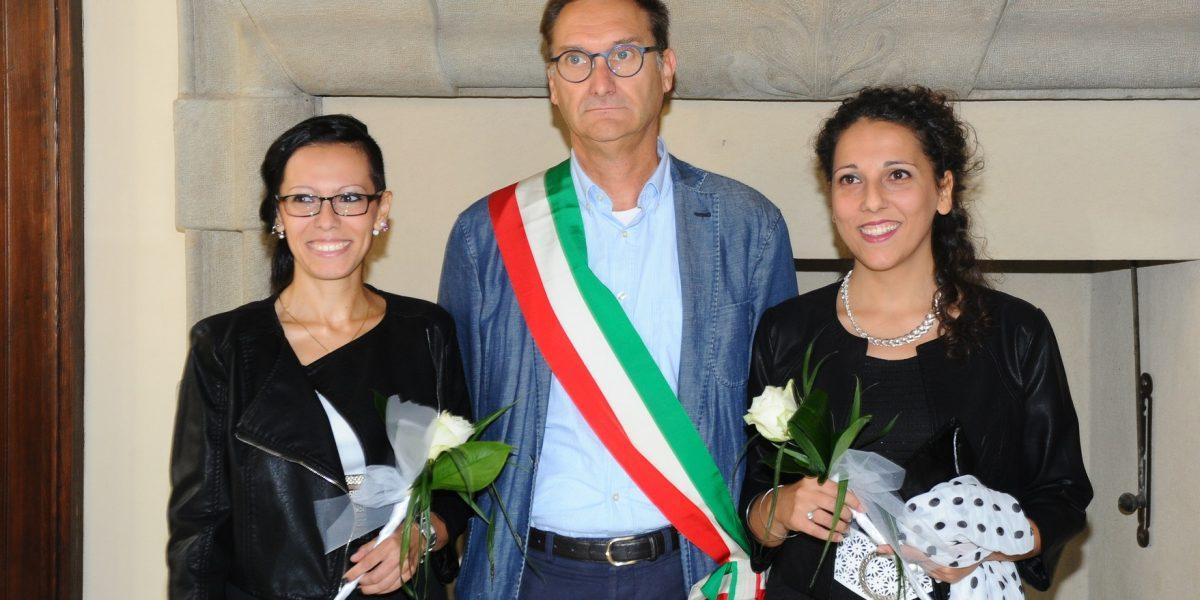 Corriere di Como: Celebrata a Cermenate la prima unione civile fra donne della provincia di Como