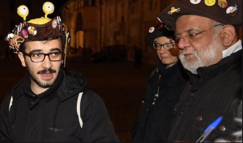 """Gazzettadimodena.gelocal.it : Modena, """"Il nostro Dio? Lo spaghetto volante"""": in città i Pastafariani"""