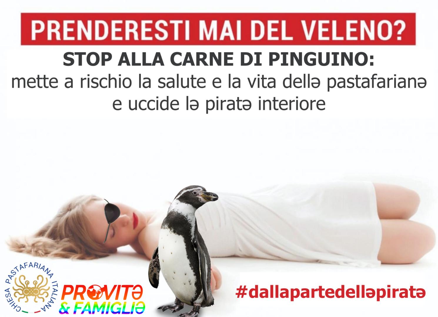 Stop alla carne di pinguino (e alla propaganda antiscientifica)