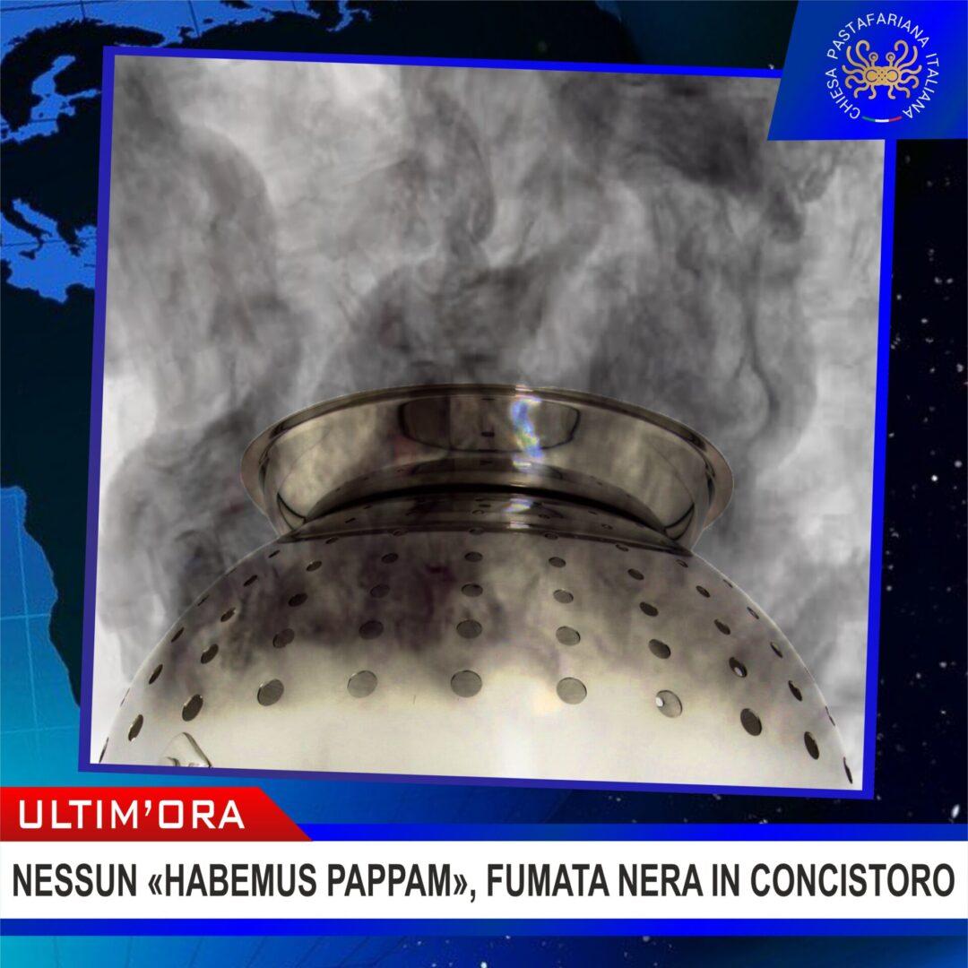 ESCLUSIVO! Fumata nera: la Chiesa Pastafariana Italiana rimane senza Pappa