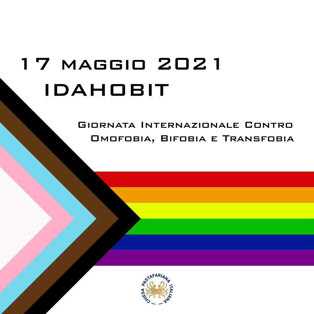 IDAHOBIT – giornata internazionale contro omofobia, bifobia e transfobia